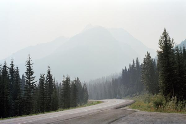Trans-Canada Highway, Alberta, 2015